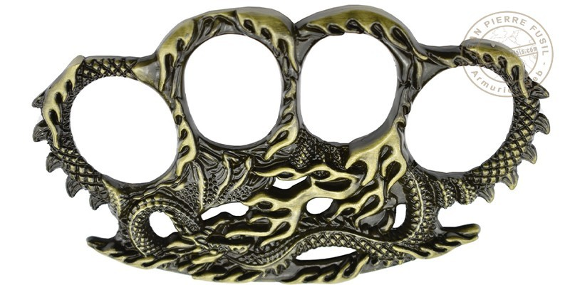MAX KNIVES - The Dragon-Snake knuckle duster