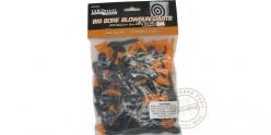 Cold Steel - Fléchettes courtes Stun Darts pour sarbacane Big Bore - cal .625