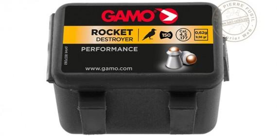 Plombs GAMO Rocket 4,5mm / 150 pour carabine