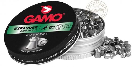 Plombs GAMO Expander 4,5mm - 2 x 250 pour carabine