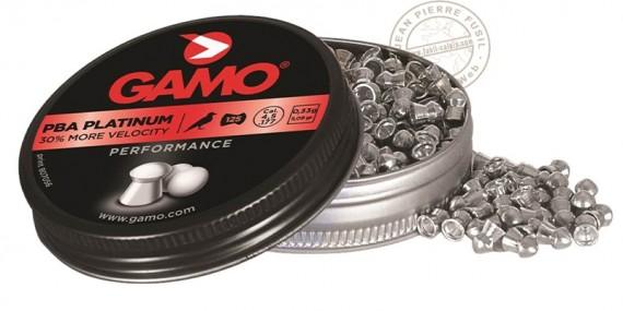 Plombs GAMO PBA Platinium 4,5mm / 125