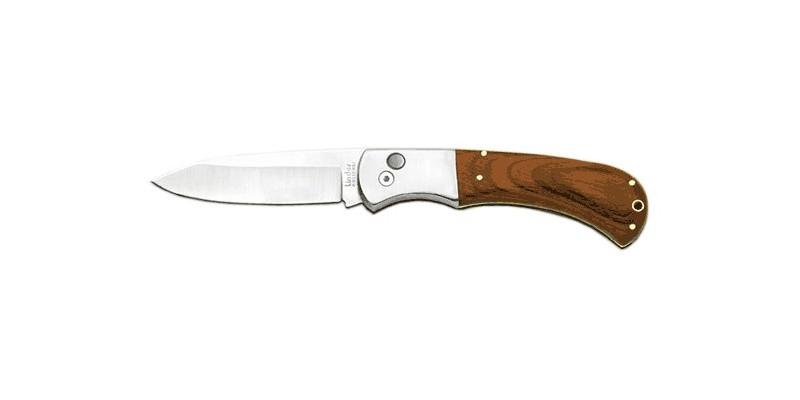 Couteau automatique LINDER - Manche Pakka