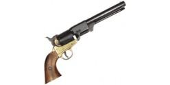 Réplique inerte du revolver Colt Navy 1851 noir