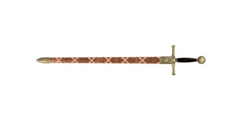 Epée Denix - Excalibur - Fourreau brun