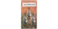 Crossbow broadheads - (x3)
