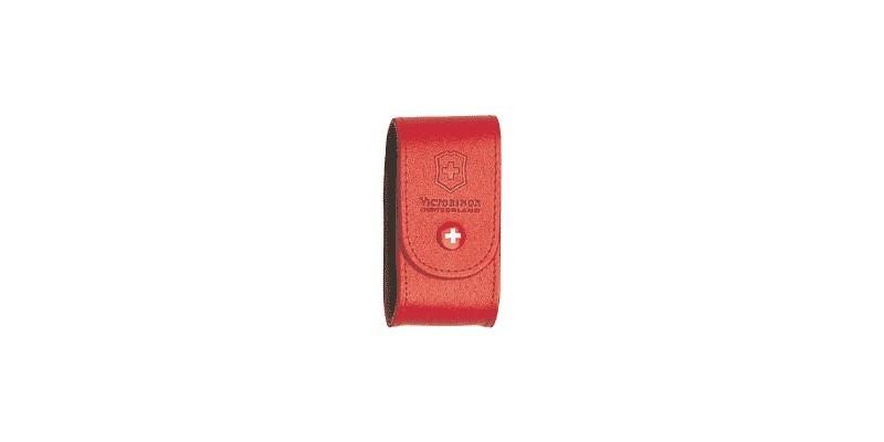Etui cuir VICTORINOX - 15 à 21 pièces - rouge