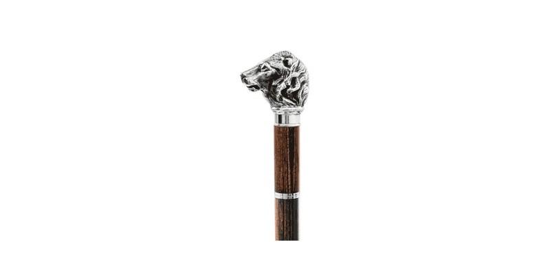 FAYET Swordstick - Lion's head