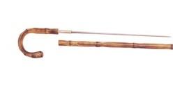 Herdegen swordstick - Crooked bamboo-style