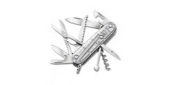 Couteau VICTORINOX - Huntsman translucide gris 11p