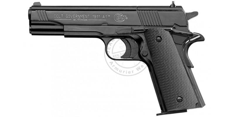 Pistolet 4,5 mm CO2 UMAREX - COLT 1911 noir (3.5 joules)