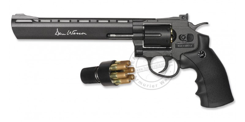 Revolver 4,5 mm CO2 ASG Dan Wesson 8'' (3 joules)