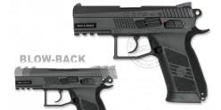 Pistolet 4,5 mm CO2 ASG CZ 75 P-07 Duty - Blowback (2 joules)