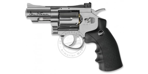 ASG Dan Wesson 2,5'' CO2 revolver - Nickel plated - .177 bore (1,7 joules)