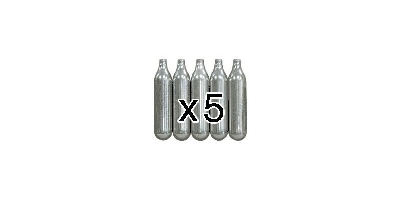 CO2 cartridges 12g (x5)