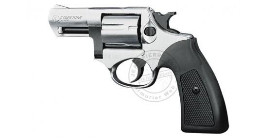 KIMAR Kruger blank firing revolver - Nickel - 9mm blank bore