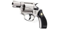 Revolver alarme UMAREX SMITH & WESSON nickelé Cal. 9mm