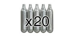Bonbonnes CO2 12g ( x 20 )