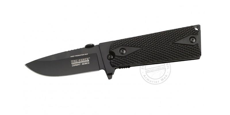TAC FORCE knife - Combat Series - Black blade - Black grip