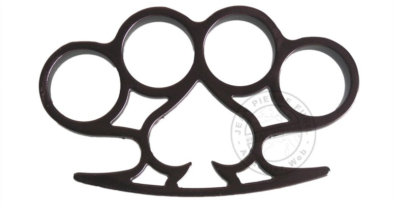 ''The ace of spades'' knuckle duster