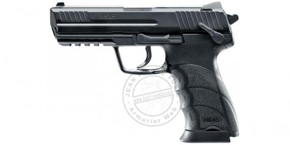 Pistolet à plomb CO2 4.5 mm HECKLER & KOCH HK45 (2,6 joules)