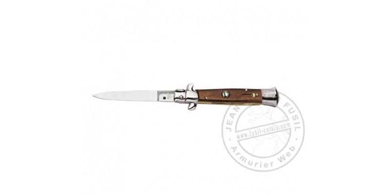 Flick knife - Rosewood - 8 cm blade