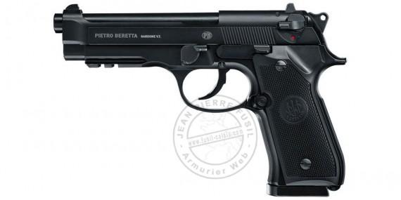 UMAREX - BERETTA Mod. 92 A1 CO2 pistol - Blowback - .177 bore (1,3 joules) - Semi or Full automatique