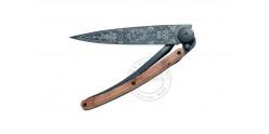 Couteau DEEJO Black Tattoo 1920 - Bois de genévrier - 37g
