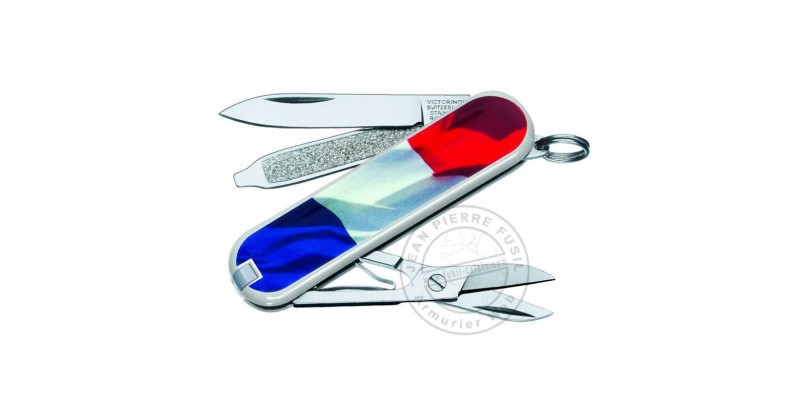 VICTORINOX knife - Classic French Flag - 5 pieces