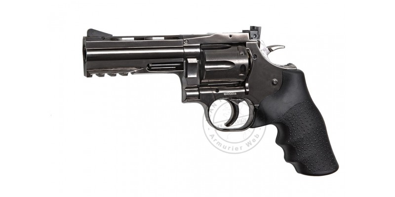 Revolver 4,5 mm BB CO2 ASG Dan Wesson 715 - canon 4'' - Steel grey (2.1 joules)