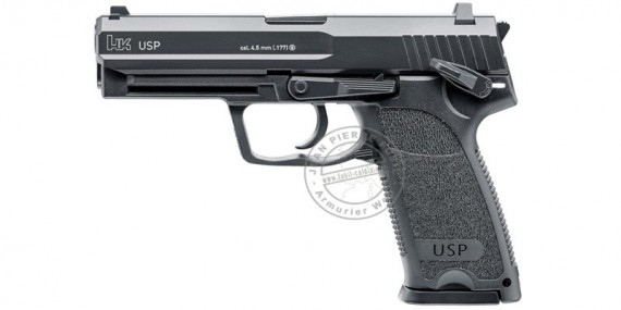 Pistolet à plomb CO2 4.5 mm HECKLER & KOCH USP (1,8 joules) - Blowback