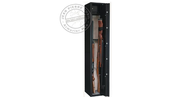 5 guns with scope cabinet safe + safe box - INFAC Sentinel