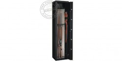 7 guns with scope cabinet safe + safe box - INFAC Sentinel