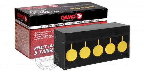 GAMO - 5 cibles pivotantes - Rocker gris et jaune