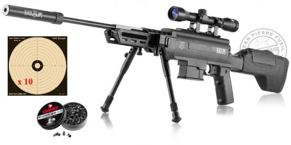 Carabine BLACK OPS Sniper Tactical 4.5 mm (19.9 Joules)