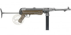 Pistolet Mitrailleur à plomb CO2 4.5 mm UMAREX Legends MP German Legacy (inf. à 7,5 Joules)