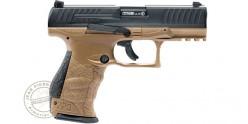 Pistolet CO2 à balles de coutchouc WALTHER PPQ M2 T4E - Cal.43 - Noir