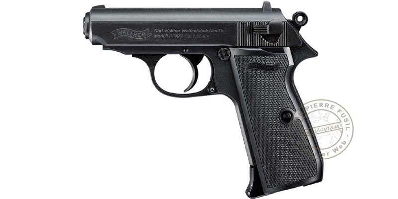 Pistolet à plomb CO2 4.5 mm WALTHER - PPK/S (1,3 Joules)