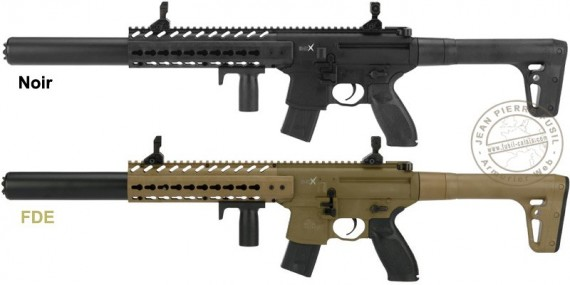 SIG SAUER MCX ASP CO2 Submachine Gun - .177 bore (7 Joule max)