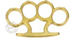 Poing américain std. bronze doré - Pointes