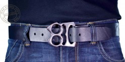 Poing américain ceinture - Noir