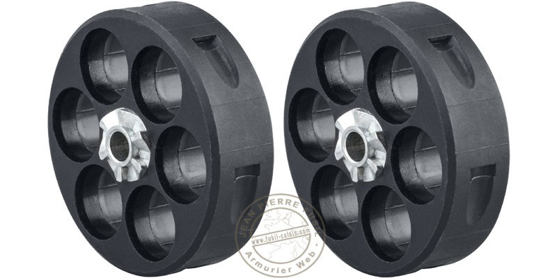 Walther T4E - Set of 2 spare cylinders for the revolver HDR 50 Cal .50