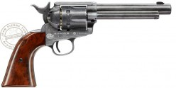 Revolver 4,5 mm CO2 UMAREX Colt Single Action Army 45 - Finition nickelée
