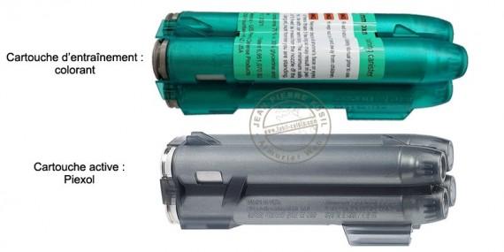 PIEXON - Chargeur 4 cartouches pour Jet Defender JPX 6 - Neutre ou active