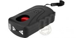 Poing électrique PIRANHA 3 000 000 V rechargeable avec lampe et alarme