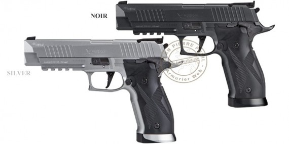 SIG SAUER X-FIVE ASP CO2 pistol .177 bore - Blowback (2.8 Joule)
