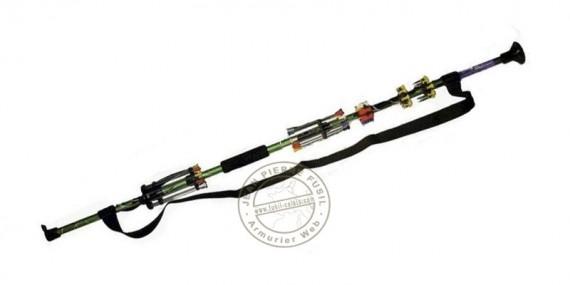 Sarbacane 122 cm (48'') démontable - 2 éléments - Camo
