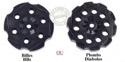 CROSMAN - Set of 3 cylinders for revolver CO2 Vigilante .177